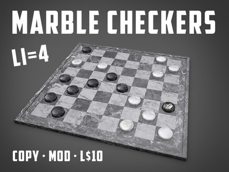 Play the Marble Checkers Game (LI=4)