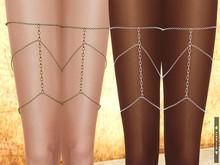 SOULMATE - Leg Chain Silver