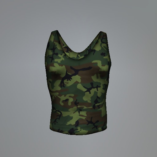 Military Camouflage Signature Tank Top