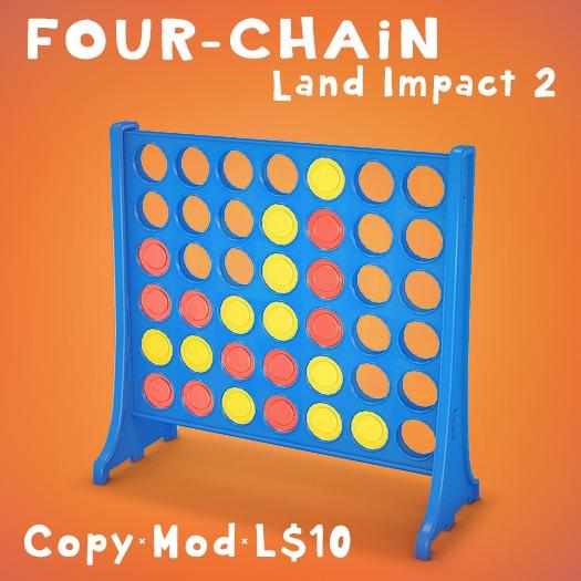 Play The Four-Chain Game (LI=2)