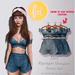 (fd) Striped Spring Set - Navy / Maitreya Lara/Slink Physique+Hourglass/Belleza Freya+Isis (MESH)