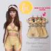 (fd) Striped Spring Set - Canary / Maitreya Lara/Slink Physique+Hourglass/Belleza Freya+Isis (MESH)