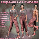 RRW ~ Elephants on Parade ~ Think Pink!