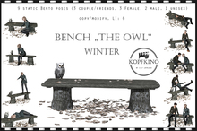 "KOPFKINO Bench ""The Owl"" Winter Edition"