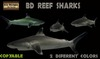PROMO!BD reef sharks copiable