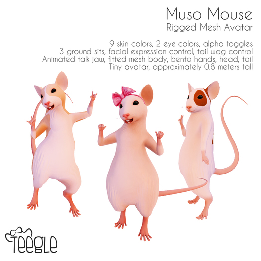 Muso Mouse Avatar