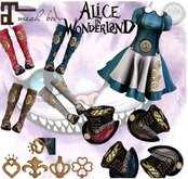 Infinity_Alice Steampunk HAT BROWN