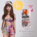 (fd) Striped Spring Set - Fatpack / Maitreya Lara/Slink Physique+Hourglass/Belleza Freya+Isis (MESH)
