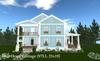 Blue Hope Cottage (97LI, 25x19)