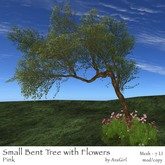 AvaGirl - Small Bent Tree with Flowers (Pink)