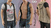 Michael FATPACK Cardigan Male, MESH - SIGNATURE GIANNI - GERALT, SLINK, BELLEZA JAKE - FashionNatic