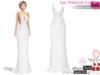 Full Perm Fitmesh White Lace Gown Slink, Maitreya, Belleza, Ocacin, Tonic, TMP, Ebody and Classics