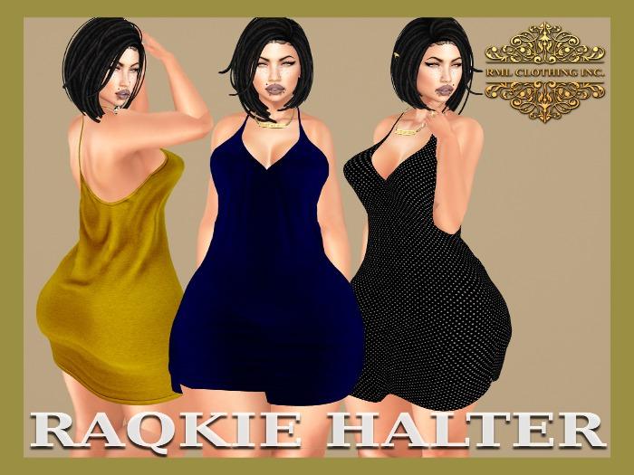 RML RAQKIE HALTER DRESS *SPECIAL OFFER*