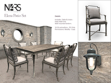 N4RS Elene Patio Set