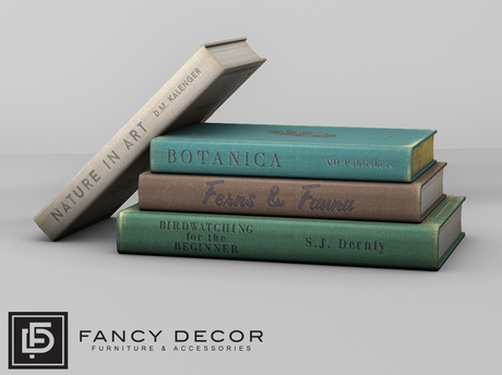 Fancy Decor: Flora Book Stack