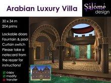Arabian Luxury Villa #price reduced