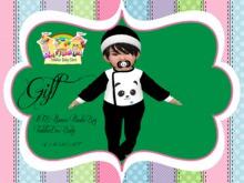 RTB Pijamas Panda Boy GIFT ~ToddleeDoo Baby~