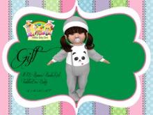 RTB Pijamas Panda Girl GIFT ~ToddleeDoo Baby~