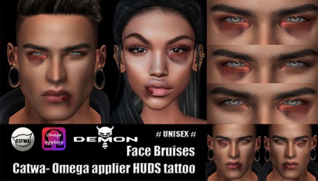 Bruises   - Catwa / Omega Applier