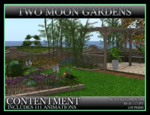 TMG - CONTENTMENT* Landscape Garden with Patio