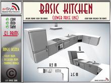 Sculpt - Basic Kitchen  by **aVISTYLe** (Low Price Line) for FULL PERM !!