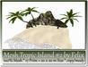 Mesh Tropic Island #2 by Felix 17 Prim=20x20m Size copy-mody