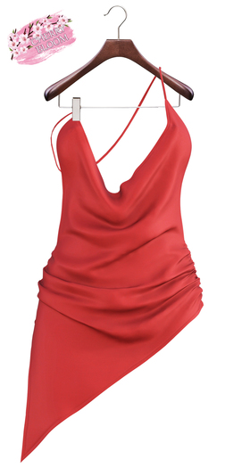 Lollita  EXCLUSIVE Female Dress Mesh- MAITREYA LARA - Red Color CB collection