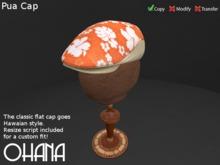 Ohana Pua Cap Linen Mango (WEAR TO UNPACK)
