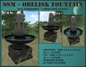SSM - Obelisk Fountain