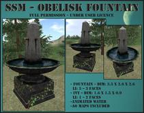 SSM - Obelisk Fountain