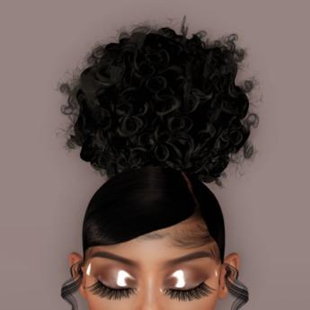 F.Q Curly Pompom