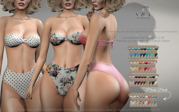 *Just BECAUSE* Irma Bikini - FatPack