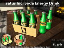[satus Inc] Soda Energy Drink