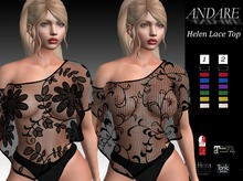ANDARE - Helen Lace Top