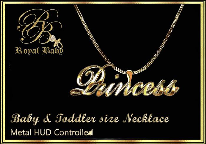Royal Baby Princess Necklace (boxed)