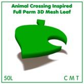 moldco Animal Crossing Inspired Full Perm 3D Mesh Leaf