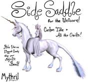 ~Mythril~ WHRH UNICORN: SideSaddle Majesty