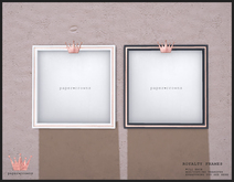 paper.crowns - royalty frames