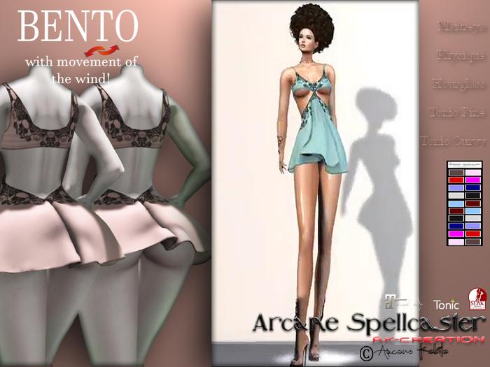 bag Dress Dress Klizia BENTO *Arcane Spellcaster* Ak-Creations