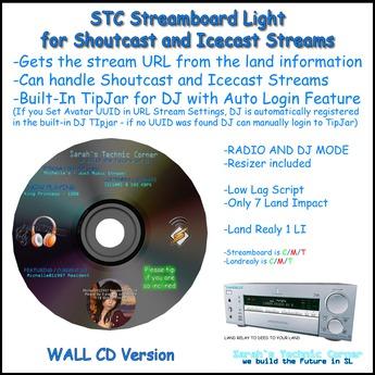 STC Streamboard - CD Wall Version - Light