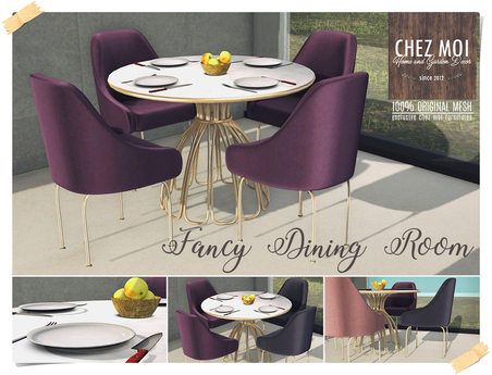 Fancy Dining Room ♥ CHEZ MOI