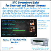 STC Streamboard - Wall Version - Light