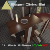 [p] Elegant Dining Set