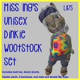 Miss Ing's Dinkie Wootstock Swirl Set