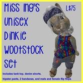 Miss Ing's Dinkie Wootstock Wild Set