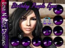 [LNL] Omega Eye Collection - Birthday Purple