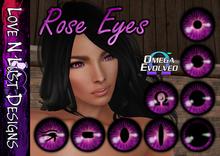 [LNL] Omega Eye Collection - Rose Pink