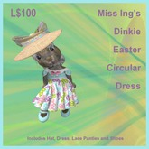 Miss Ing's Dinkie Easter Circular Dress Boxed