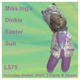 Miss Ing's Dinkie Easter Suit Boxed