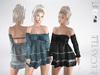 LeCastle - Shirley Denim Dress / Maitreya / Belleza / Slink / TMP / HUD